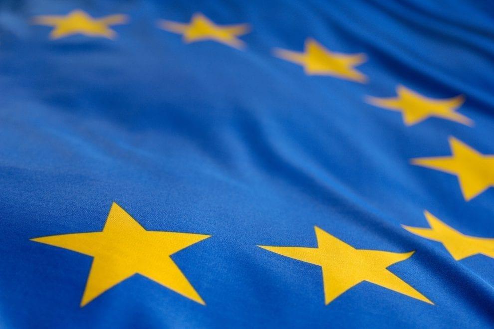 Foto der europäischen Flagge
