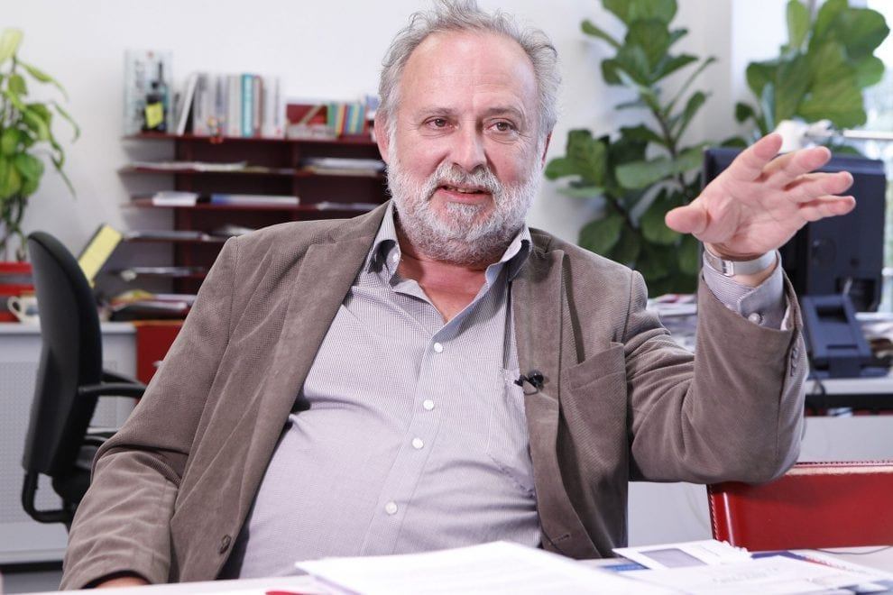 Interviewfoto von Hans Trenner