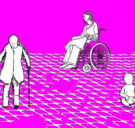 Illustration von Betroffenen