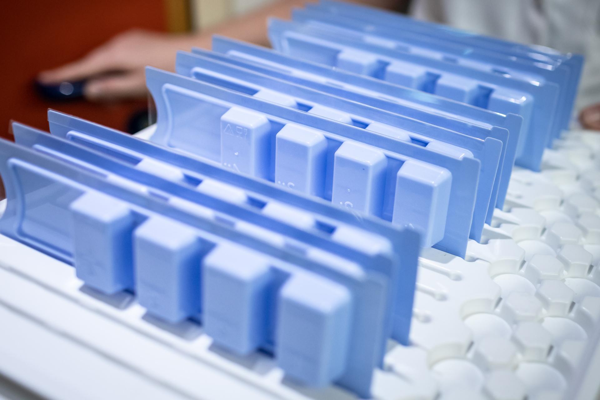 Foto von Tablettenboxen