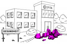 Diskriminierung Gesundheit Illustration