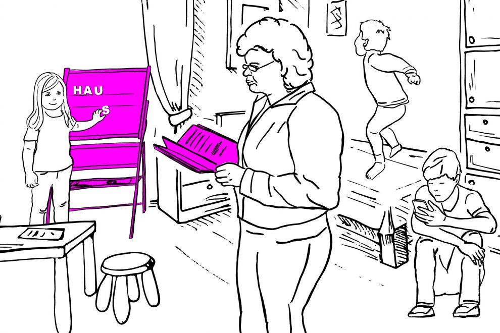 WeiterIllustration Homeschooling
