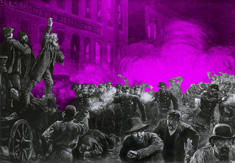 Haymarket Proteste