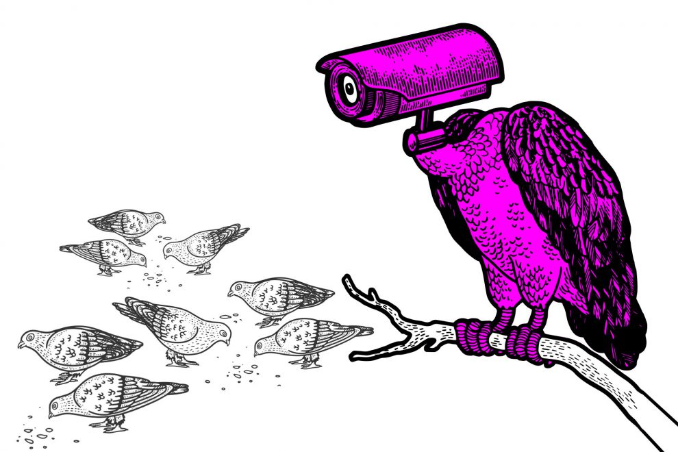 Illustration Überwachung