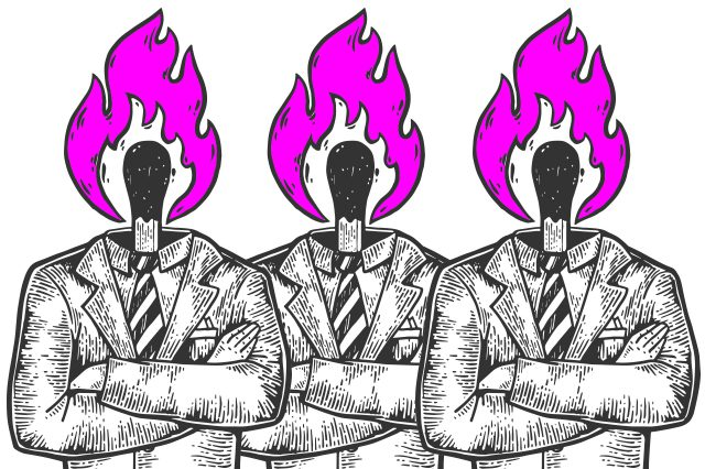 Illustration politischer Klimawandel