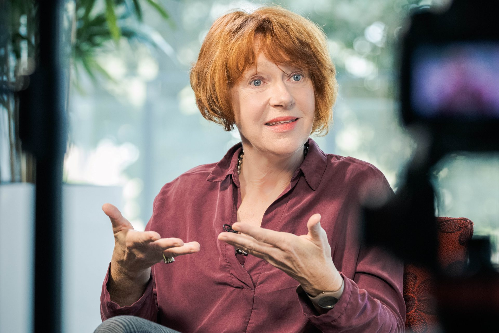 Ulrike Guérot bricht eine Lanze für Populismus.