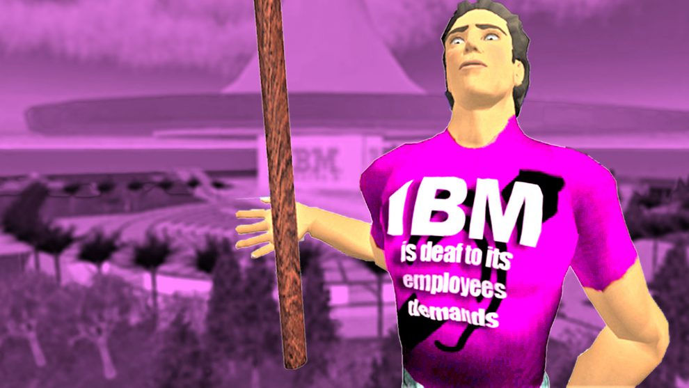 Streik in Second Life