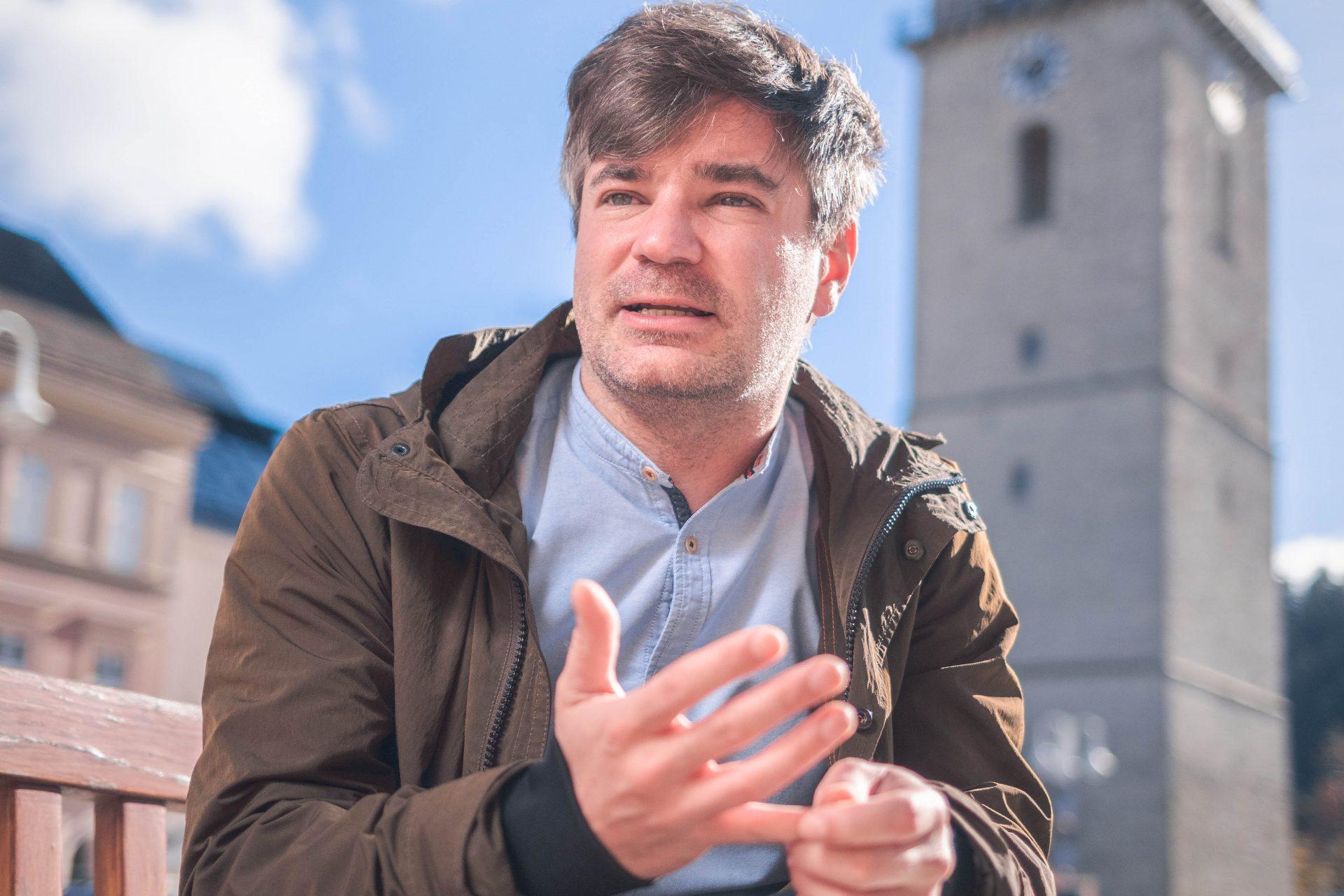 Porträt Wolfgang Moitzi