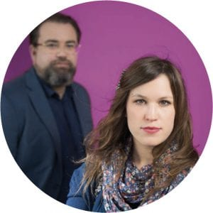 Die Redaktion: Anja Melzer, Michael Mazohl