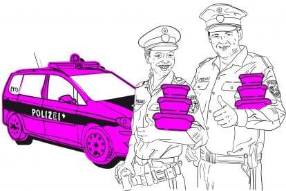 Nebenjobs bei der Polizei: Security, Tupperware & Kosmetika