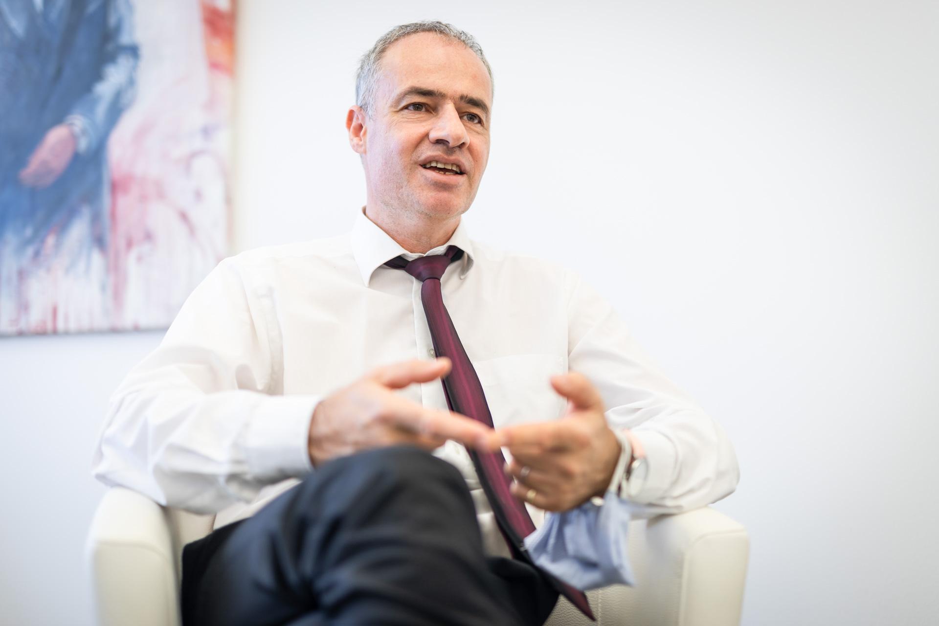 Richter Oliver Scheiber zur Digitalisierung der Justiz