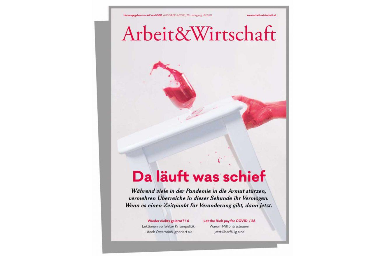 Arbeit&Wirtschaft Cover Ausgabe 4-2021