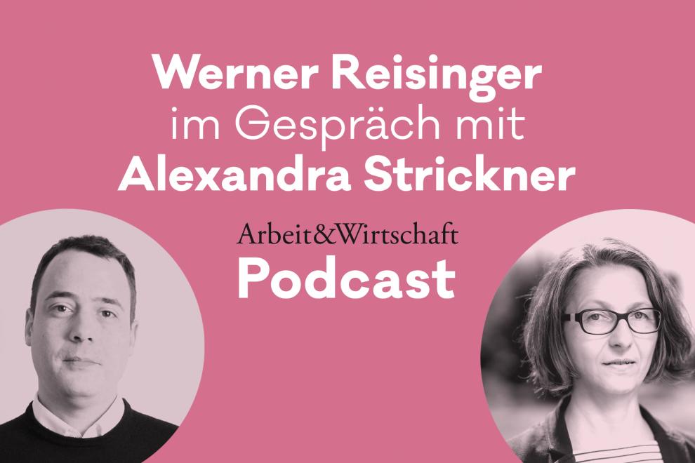 A&W Podcast 5/2021: Die Macht der Konzerne stößt an ihre Grenzen. Alexandra Strickner im Interview mit Werner Reisinger