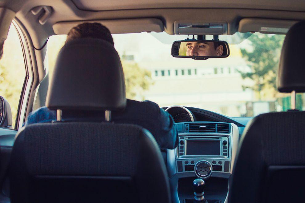 Uber-Fahrer